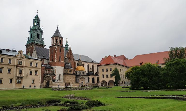Colina de Wawel de Cracovia