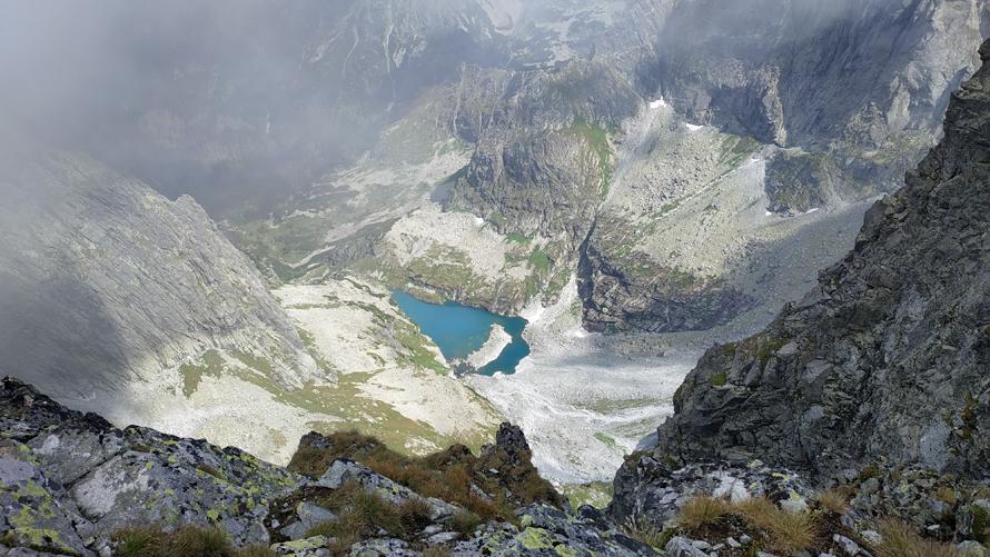 Parte eslovaca de los montes Tatras desde Rysy