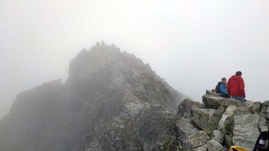 Otro de los picos de Rysy, en Eslovaquia