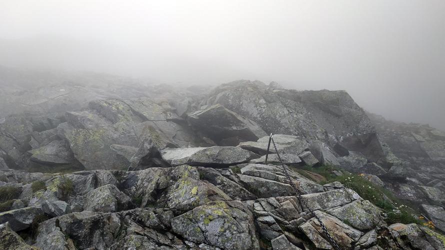 Visibilidad cero por culpa de la niebla