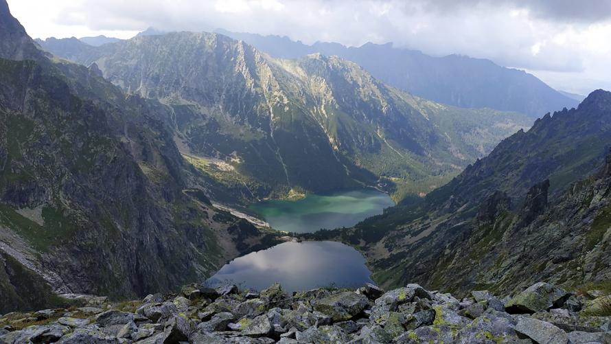 Czarny Staw, Morskie Oko y los montes Tatras