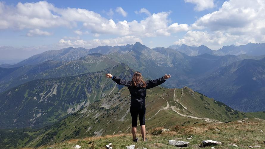Montes Tatras desde Kopa Kondracka