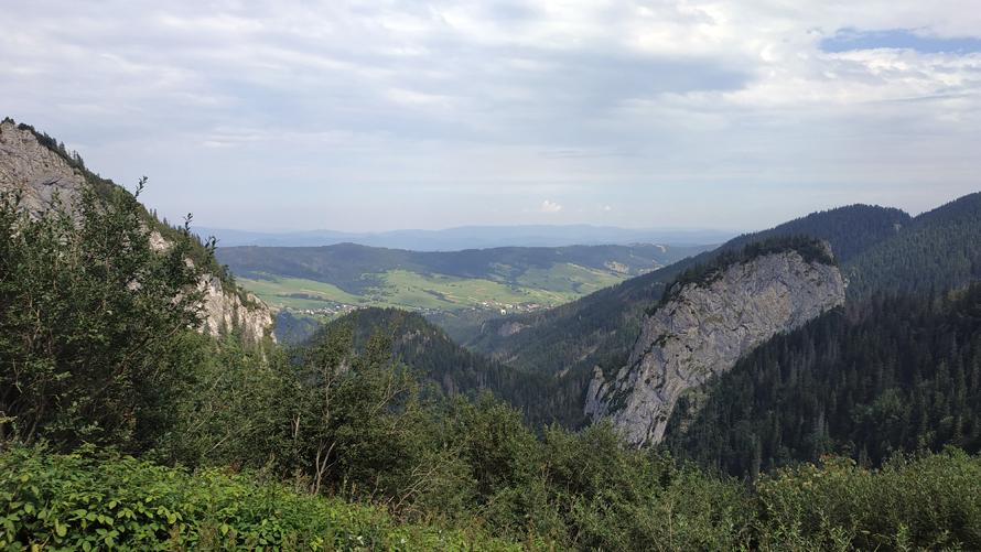 Ždiar en la lejanía, desde la montaña