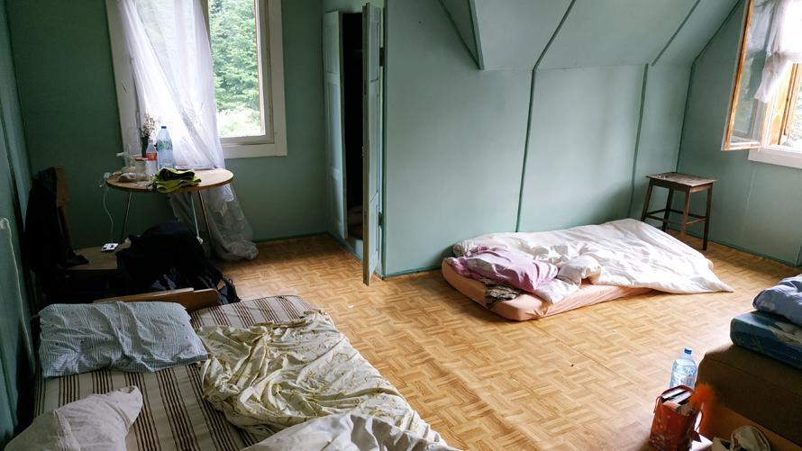 Mi habitación del Good Bye Lenin hostel