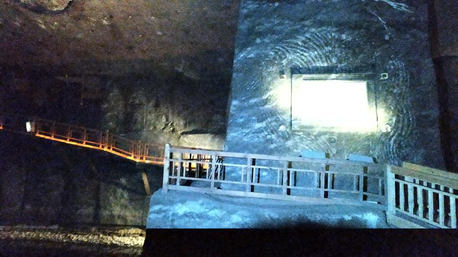 Pasillos desde donde se podía ver la Grotta
